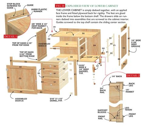 Free Woodworking Plans For Hutch