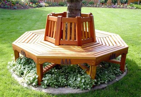 Free Woodworking Plans For Round Tree Bench