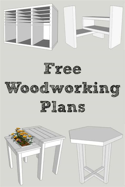 Free Woodworking Plans Free