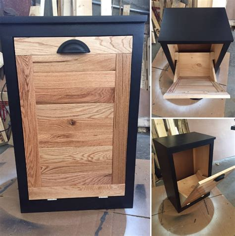 Free Woodworking Plans Pdf Tilt Out Trash Bin