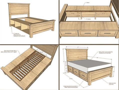 Free Woodworking Plans Queen Bed