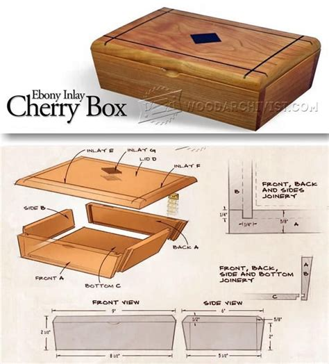 Free Woodworking Plans Small Boxes
