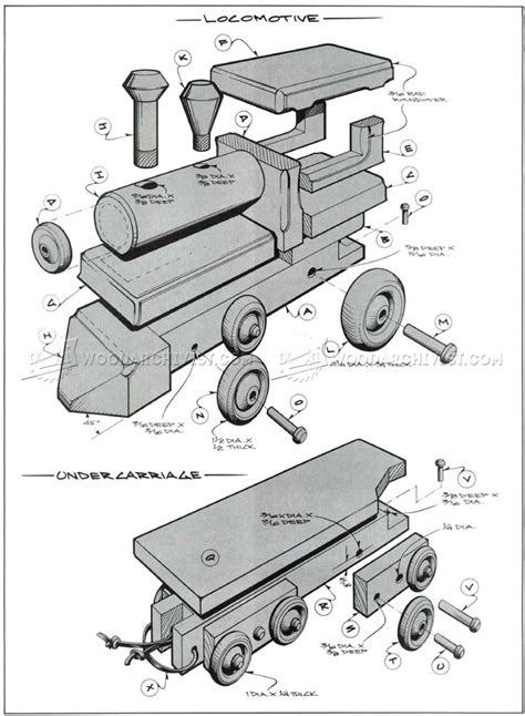 Free Woodworking Plans Toy Train