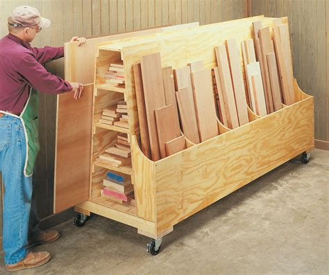 Free Woodworking Plans Wood Storage Cart