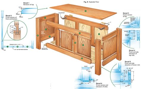 Free Woodworking Plans Wooden Blanket Box