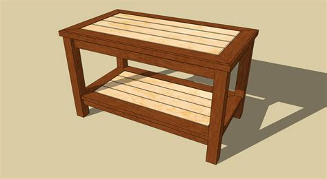 Free Woodworking Projects Wood Coffee Tables