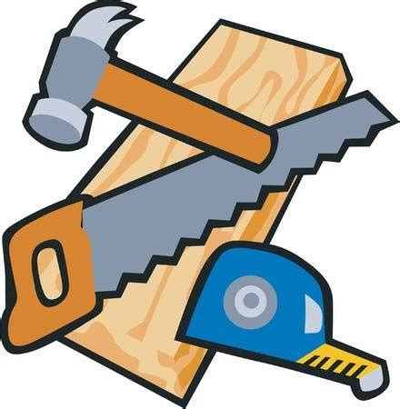 Free Woodworking Tools Clipart