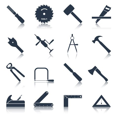Free Woodworking Tools Vector