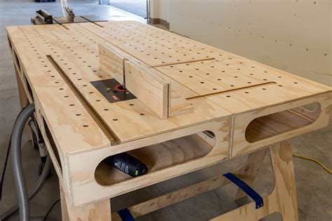 Free Workbench Plans Pdf Youtube
