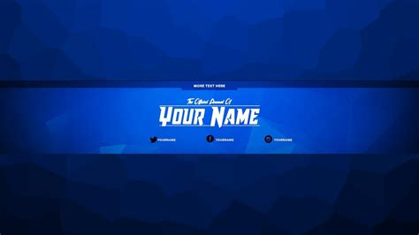 Free Youtube Channel Art Template Maker