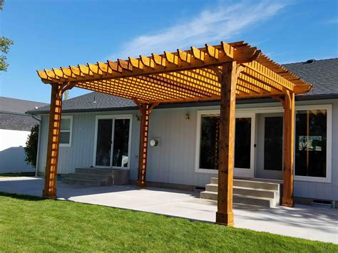 Free plans for wooden pergola kits Image