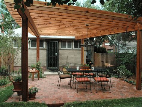 Free plans for wooden pergolas Image