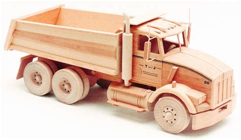 Free wooden toy truck patterns Image