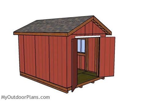 Free-10x14-Saltbox-Shed-Plans