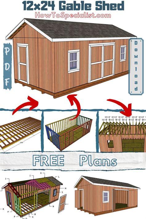 Free-12x24-Storage-Shed-Plans