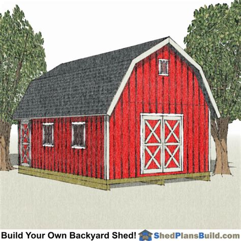 Free-16x24-Gambrel-Shed-Plans