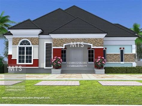 Free-4-Bedroom-Bungalow-House-Plans-In-Nigeria