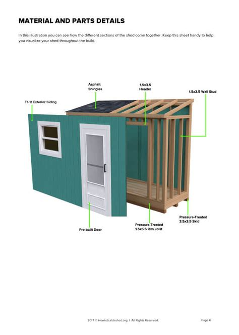 Free-4-X-12-Lean-To-Shed-Plans