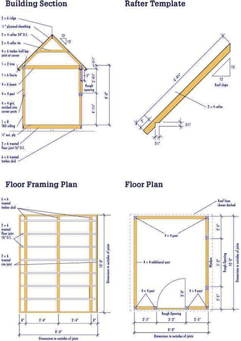 Free-8-X-10-Wood-Shed-Plans