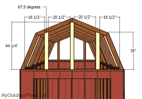 Free-8-X-12-Gambrel-Shed-Plans