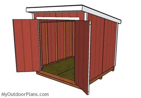 Free-8x8-Lean-To-Shed-Plans