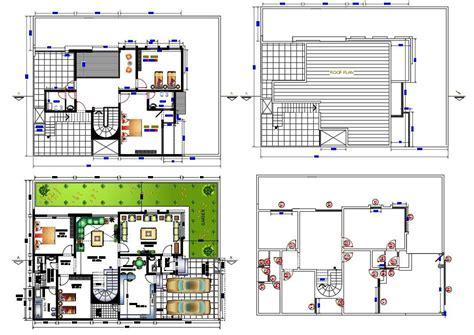 Free-Autocad-Modern-House-Plans