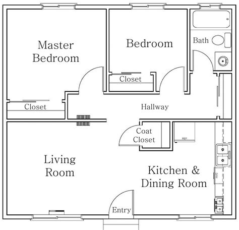 Free-Autocad-Simple-House-Plans-Dwg