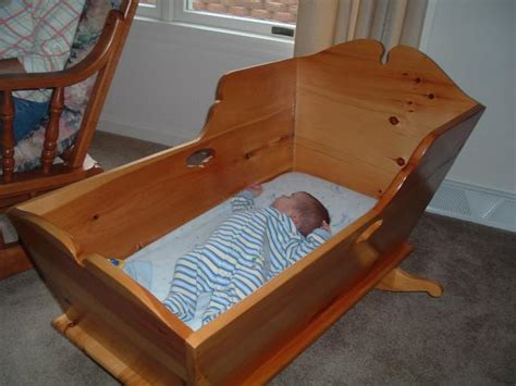 Free-Baby-Cradle-Woodworking-Plans