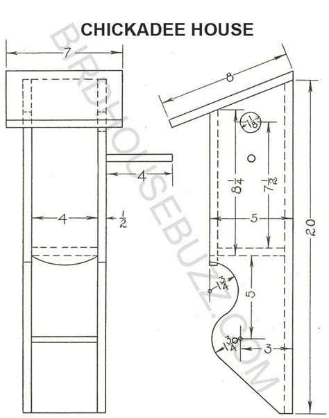Free-Birdhouse-Plans-For-Chickadees