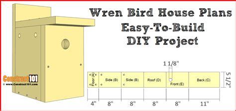 Free-Birdhouse-Plans-For-Wrens