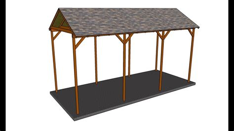 Free-Building-Plans-For-A-Wooden-Carport