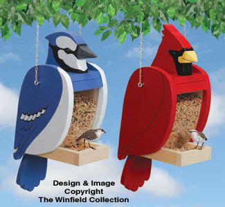 Free-Cardinal-Shaped-Bird-Feeder-Plans
