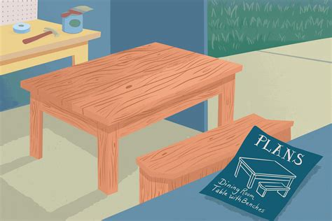 Free-Dining-Table-Design-Plans