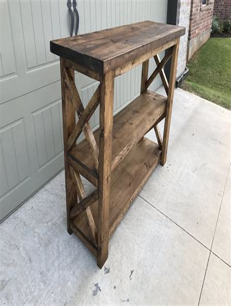Free-Diy-Hall-Table-Plans