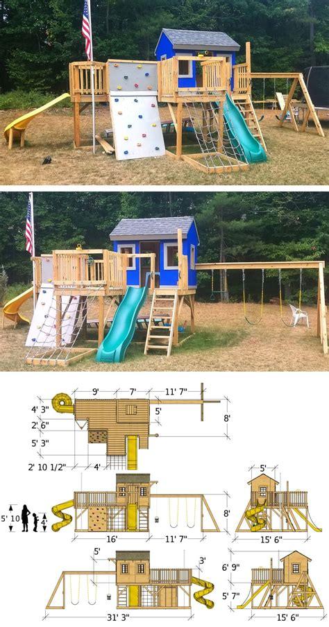 Free-Diy-Playhouse-Backyard-Playground-Plans