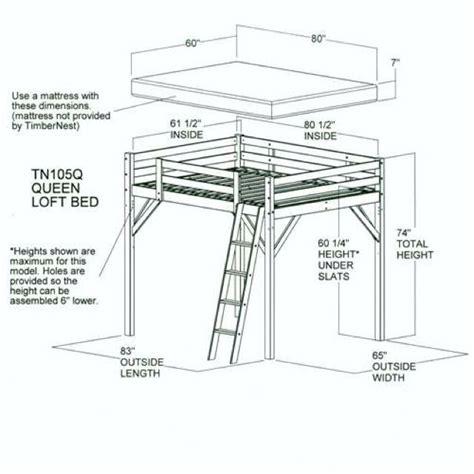 Free-Diy-Queen-Loft-Bed-Plans