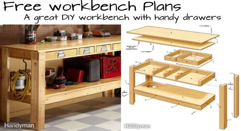 Free-Diy-Workbench-Plans