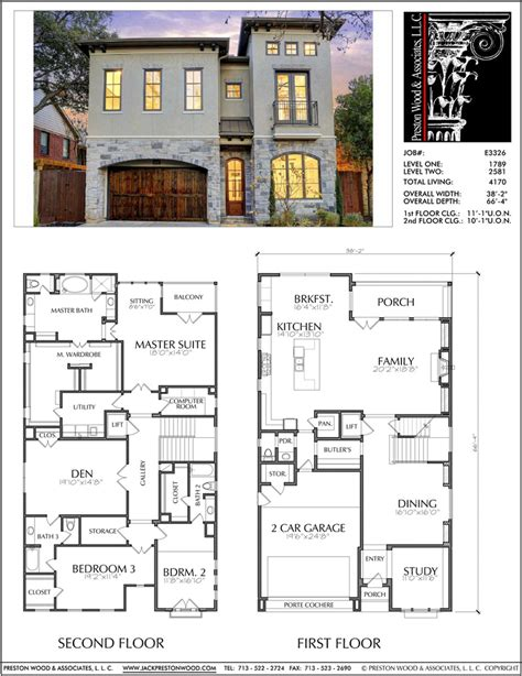 Free-Double-Story-House-Plans