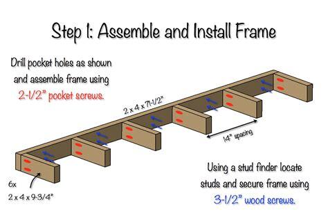 Free-Floating-Shelf-Plans