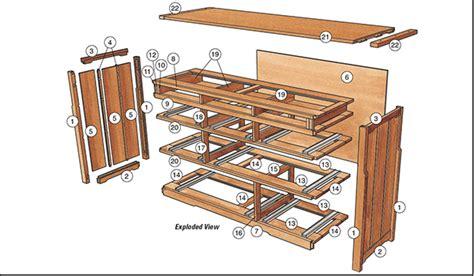 Free-Greene-And-Greene-Style-Dresser-Plans