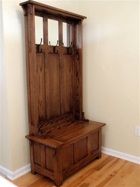 Free-High-Back-Hall-Bench-Plans