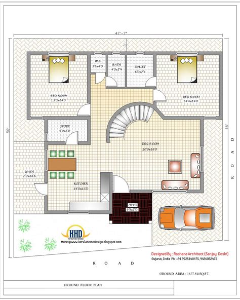 Free-House-Designs-And-Floor-Plans-In-India