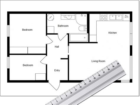 Free-House-Plans-With-Measurements