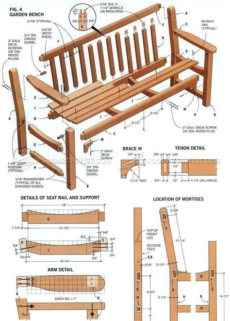 Free-Japanese-Garden-Bench-Plans