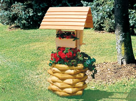 Free-Landscape-Timber-Wishing-Well-Plans