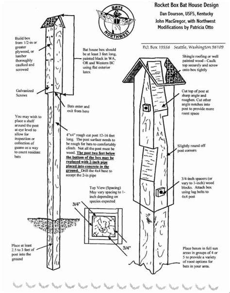 Free-Large-Bat-House-Plans