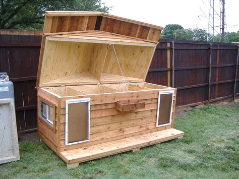 Free-Large-Insulated-Dog-House-Plans