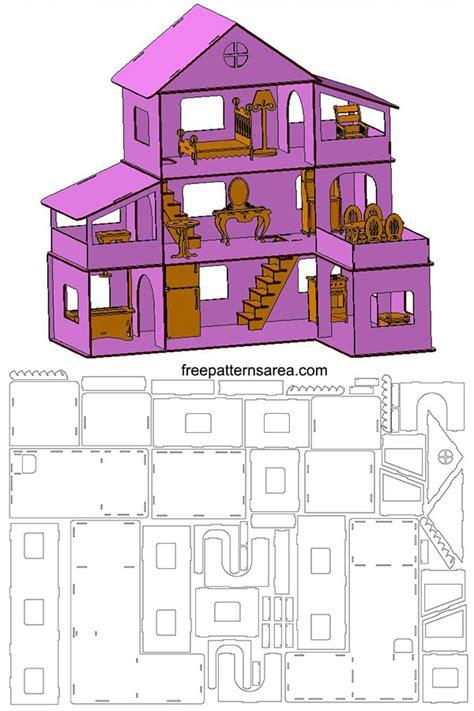 Free-Laser-Cut-Dollhouse-Plans