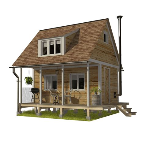 Free-Loft-Cabin-Lumber-List-And-Plans