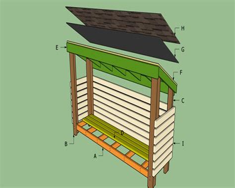 Free-Mini-Barn-Plans-With-Wood-Storage